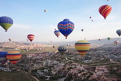 ทัวร์ AWESOME TURKEY ตุรกี 9 DAYS 6 NIGHTS โดยสายการบินเตอร์กิช แอร์ไลน์ (TK)