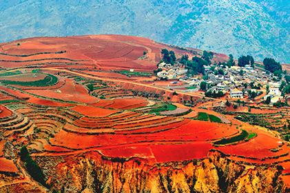 ทัวร์ SUPER คุ้ม คุนหมิง ภูเขาเจี้ยวจื่อ  ตงชวน สะพานแก้ว  ถ้ำไซอิ๋ว 4 วัน 3 คืน โดย สายการบินไชน่าอีสเทิร์นแอร์ไลน์ (MU)