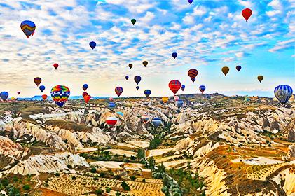 ทัวร์ TURKEY BE MY GUEST ตุรกี 9 วัน 7 คืน โดยสายการบินคูเวต แอร์ไลน์ (KU)