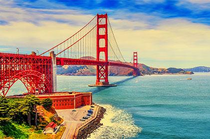 BIG DEAL WEST USA  ซานฟรานซิสโก – อุทยานแห่งชาติ โยเซมิตี - ลาสเวกัส – ลอสแอนเจลิส 8 วัน 5 คืน โดยสายการบิน ไชน่า แอร์ไลน์ (CI)