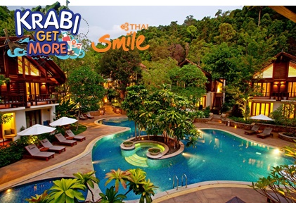 แพ็กเกจ กระบี่ The Tubkaak Krabi Boutique Resort 3 วัน 2 คืน สายการบินไทยสมายล์ WE (Krabi Get More)